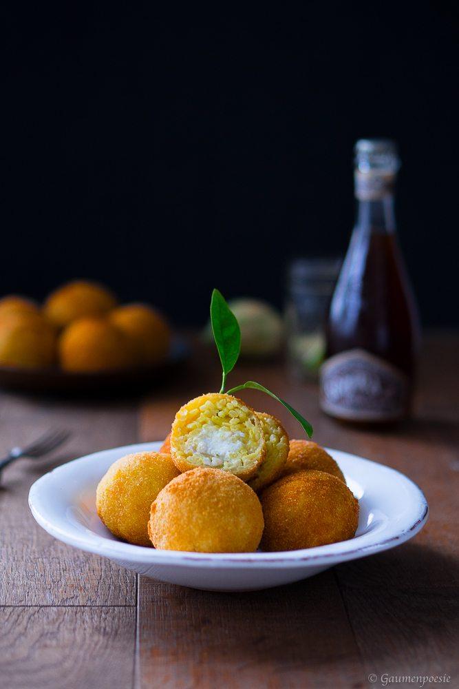 Rezept Arancini die Riso - sizilianische Reisbällchen