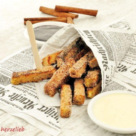 Rezept Arme Ritter in Pommes-Optik