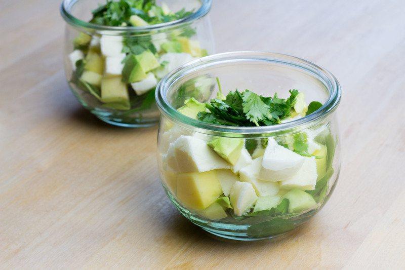 Rezept Asiatisch angehauchter Mango-Mozzarella-Salat