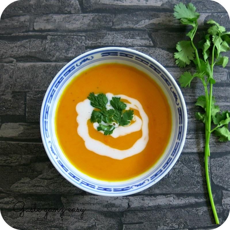 Rezept Asiatische Kürbissuppe