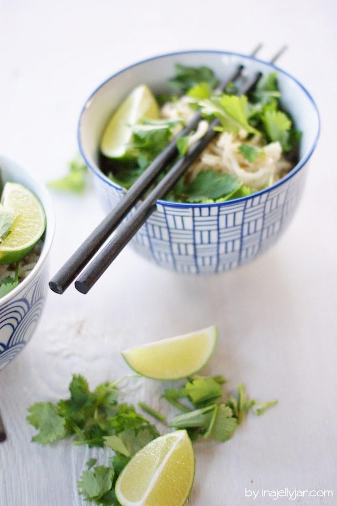 Rezept Asiatische Sesamnudeln mit Koriander
