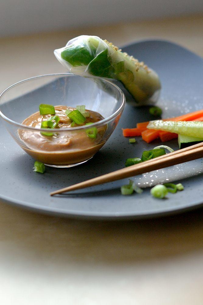 Rezept Asiatischer Erdnuss-Dip