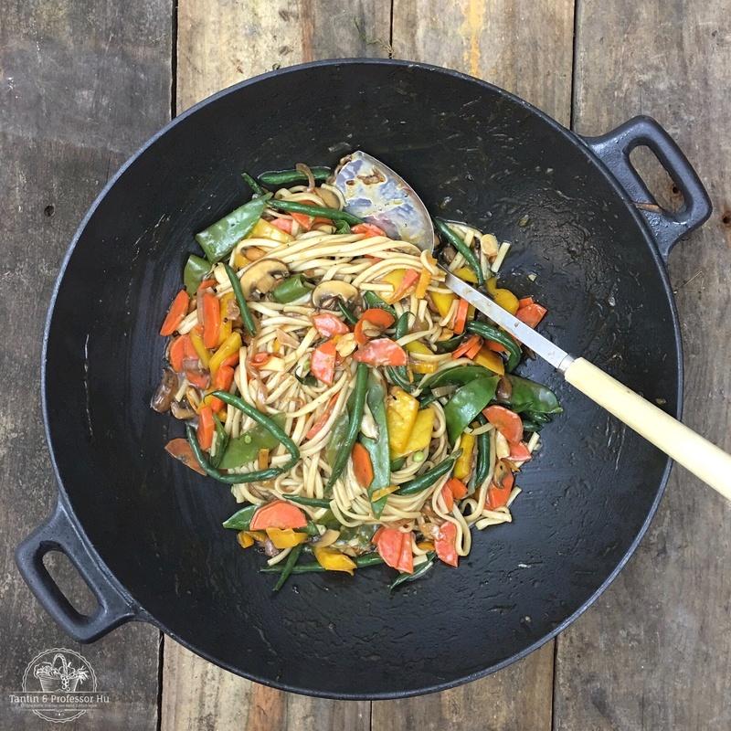 Rezept Asiatischer Gemüse-Wok