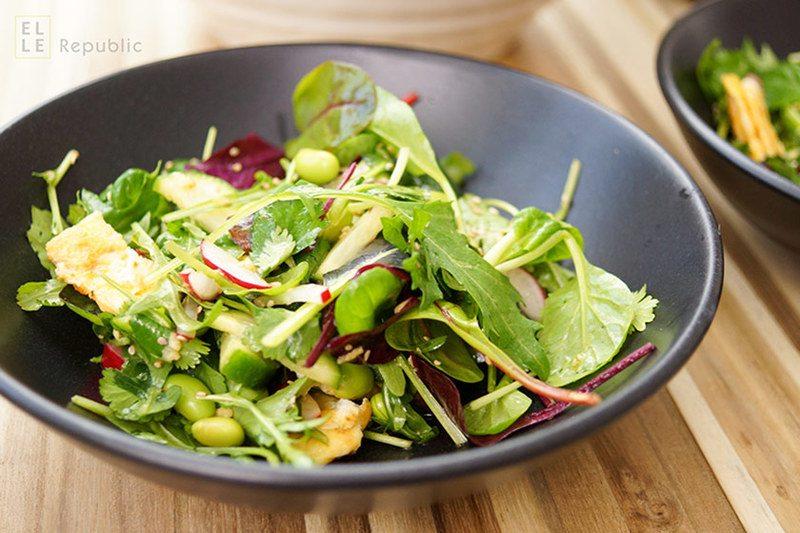 Rezept Asiatischer Salat mit Edamame