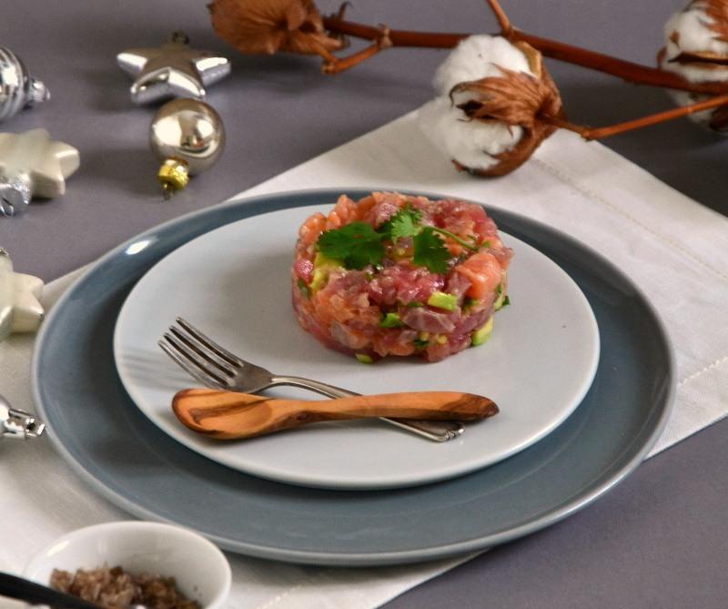 Rezept Asiatisches Thunfisch-Lachs-Tartar