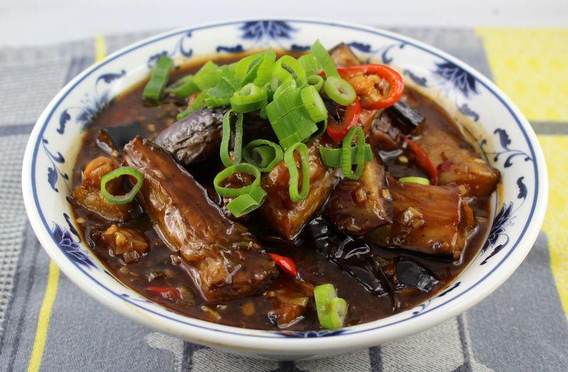 Rezept Aubergine im Sichuan Style