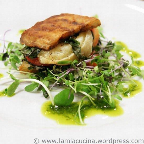 Rezept Aubergine-Ziegenkäse-Sandwich