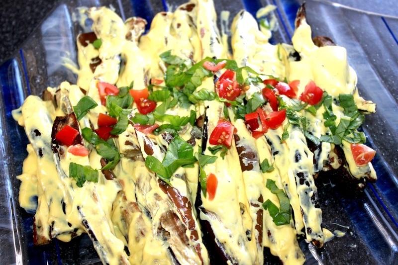Rezept Auberginen Salat