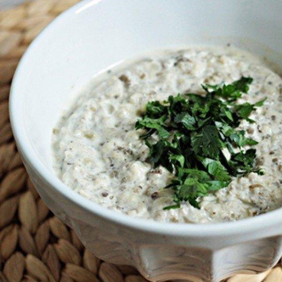 Rezept Auberginenmus mit Knoblauch