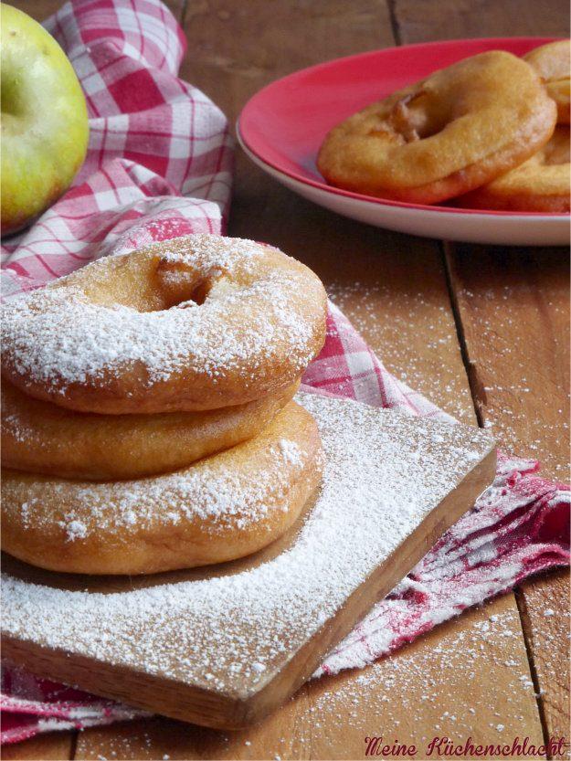 Rezept Ausgebackene Apfelküchlein