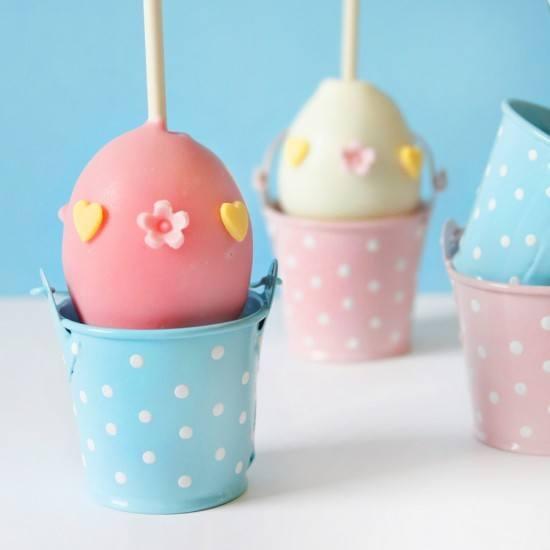 Rezept Äußerst Eggcelent: Einfache Ostereier Cake Pops