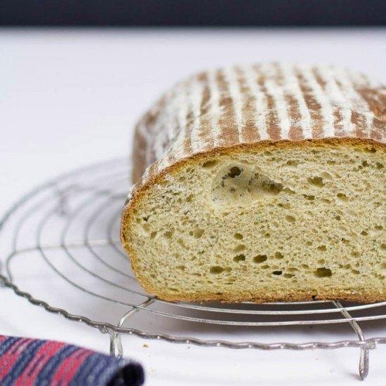 Rezept Avocado Brot auf Sauerteig Basis