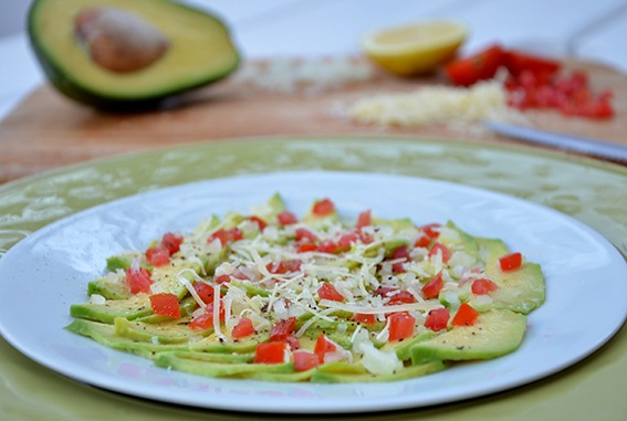 Rezept Avocado Carpaccio