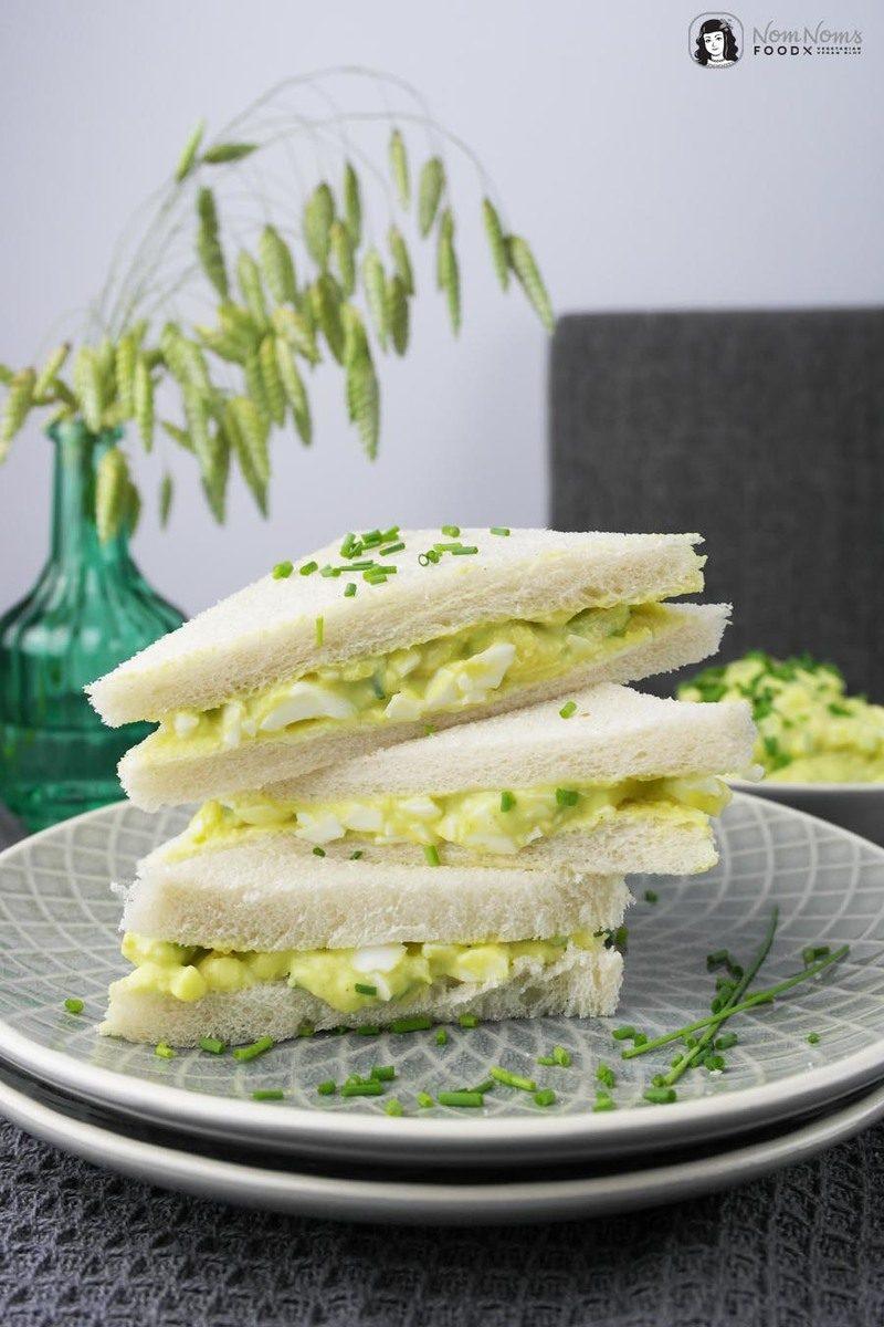 Rezept Avocado-Curry-Eiersalat Sandwich