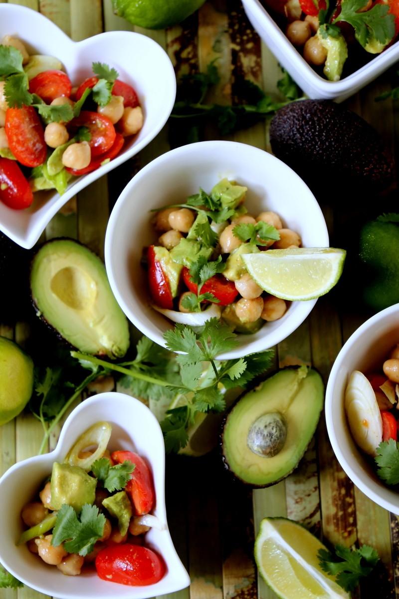 Rezept Avocado-Kichererbsen-Salat