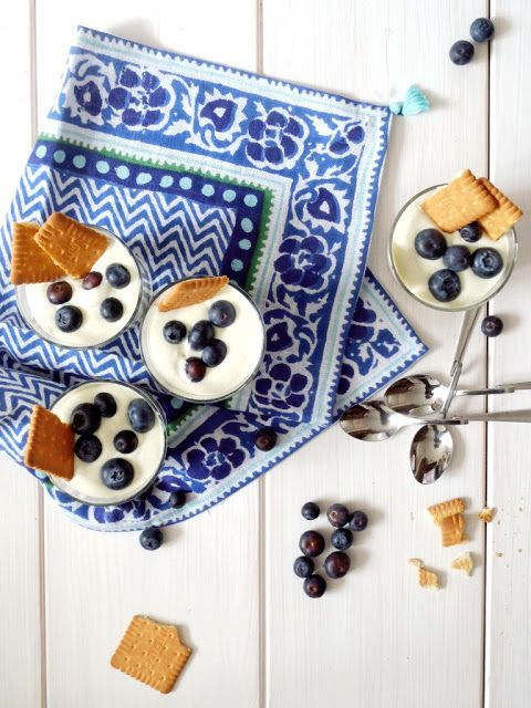 Rezept Avocado-Kokos Creme mit Blaubeeren