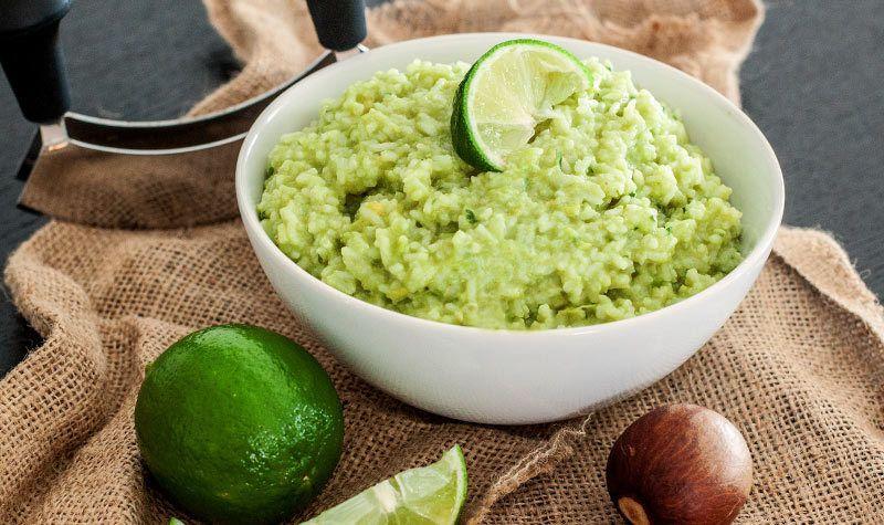 Rezept Avocado-Koriander-Reis