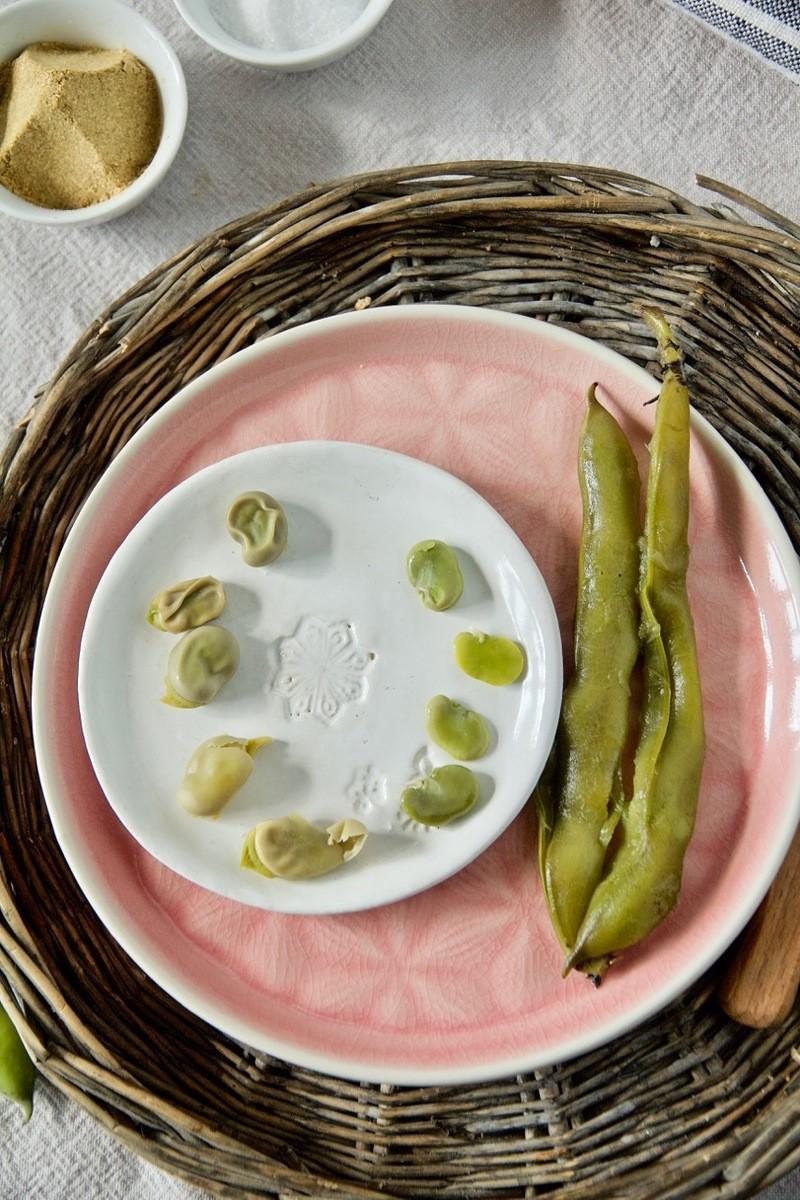 Rezept Baghali Pokhte - Gesundes Street Food aus Persien