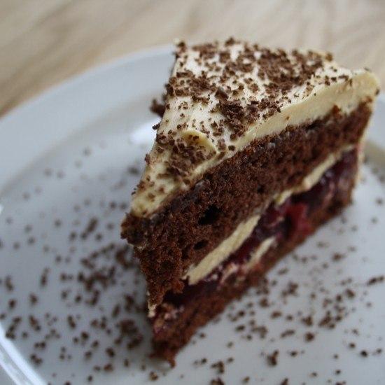 Rezept Baileys-Torte mit After Eight und Kirschen