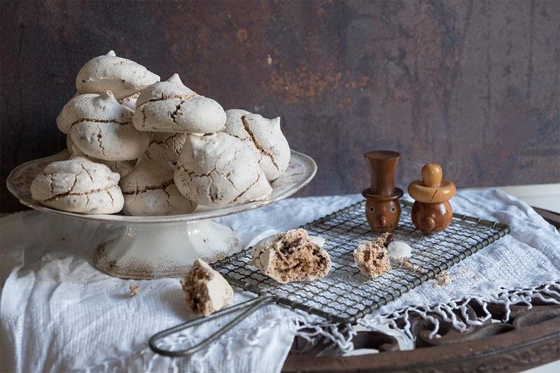 Rezept Baisers mit Zimt und Schokolade