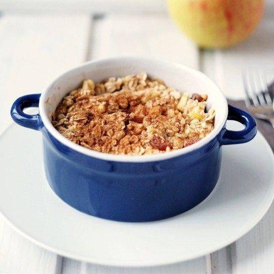 Rezept Baked Apple-Porridge