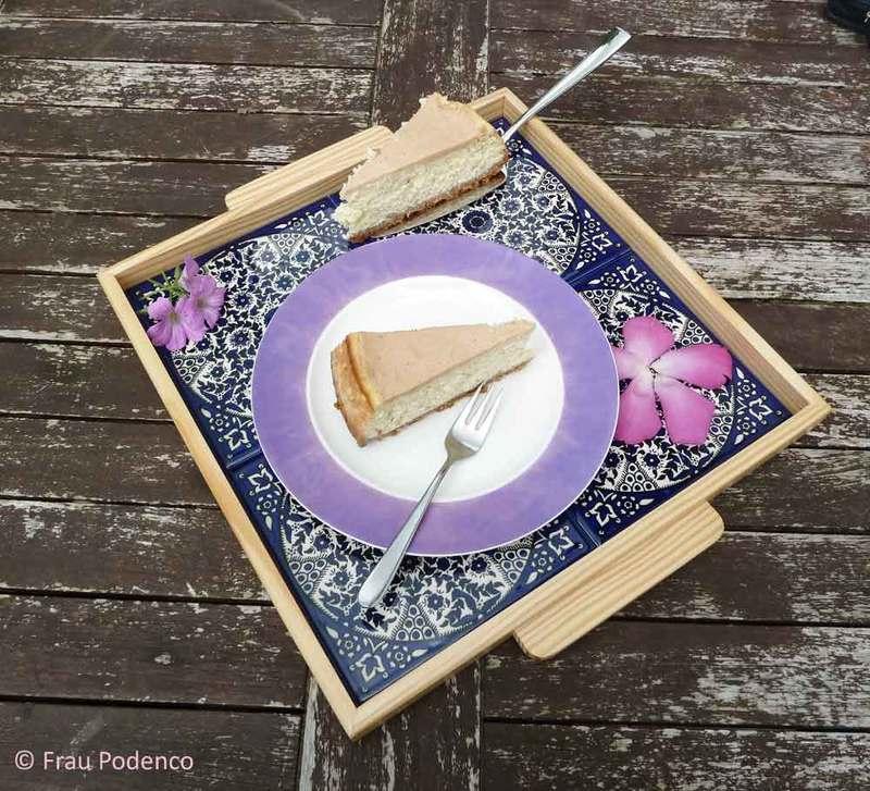 Rezept Banana-Cheesecake mit Erdnussbutter-Topping