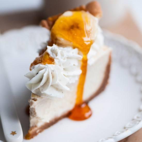Rezept Banana Cream Pie mit Meringuekrönchen