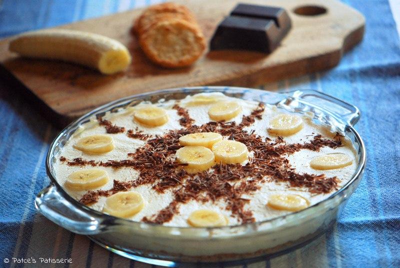 Rezept  Banana Cream Pie