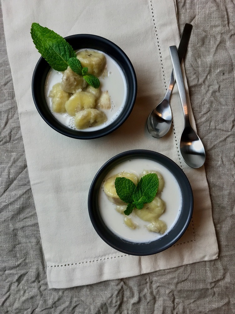 Rezept Banana in coconut milk