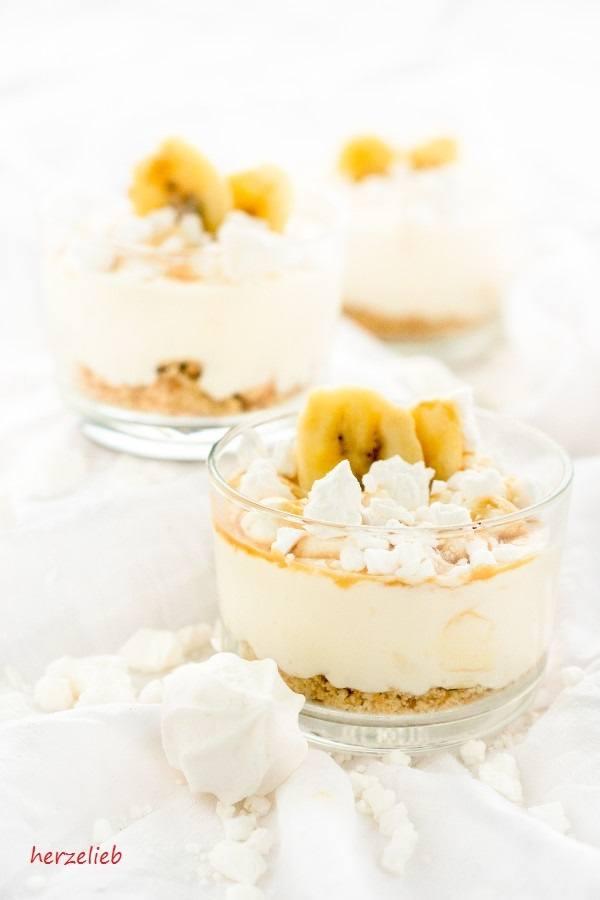 Rezept Bananen-Caramel-Dessert