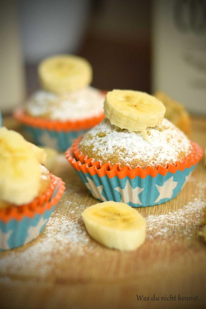 Rezept Bananen Muffins mit Kokos