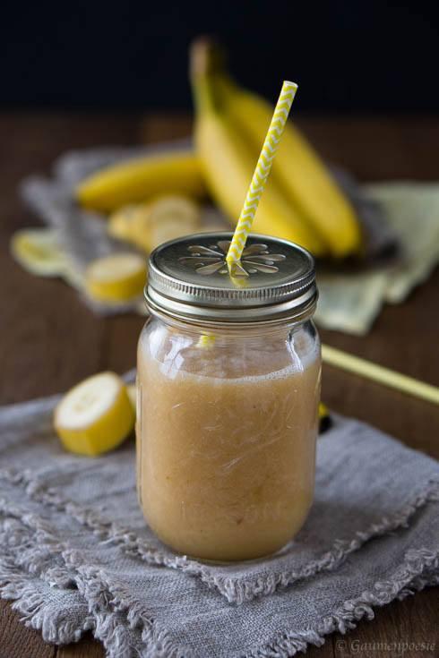 Rezept Bananen-Power-Smoothie