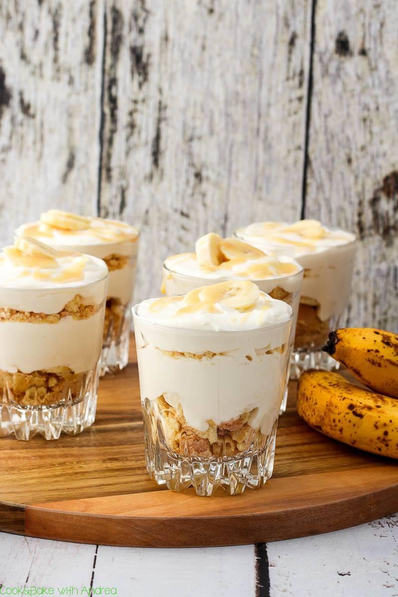 Rezept Bananen-Triffle mit Karamell