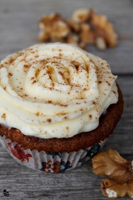 Rezept Bananen-Walnuss-Cupcakes