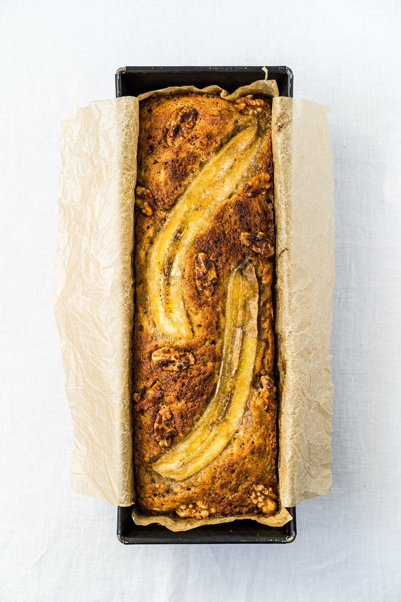 Rezept Bananenbrot mit Walnüssen