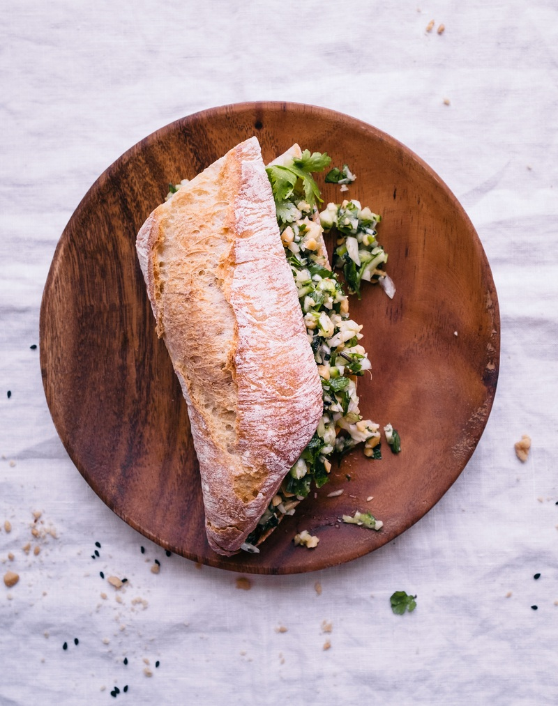 Rezept Banh Mi Sandwich