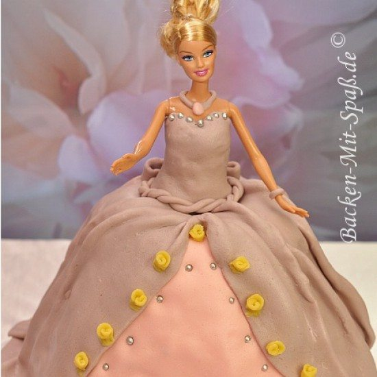 Rezept Barbie- Torte