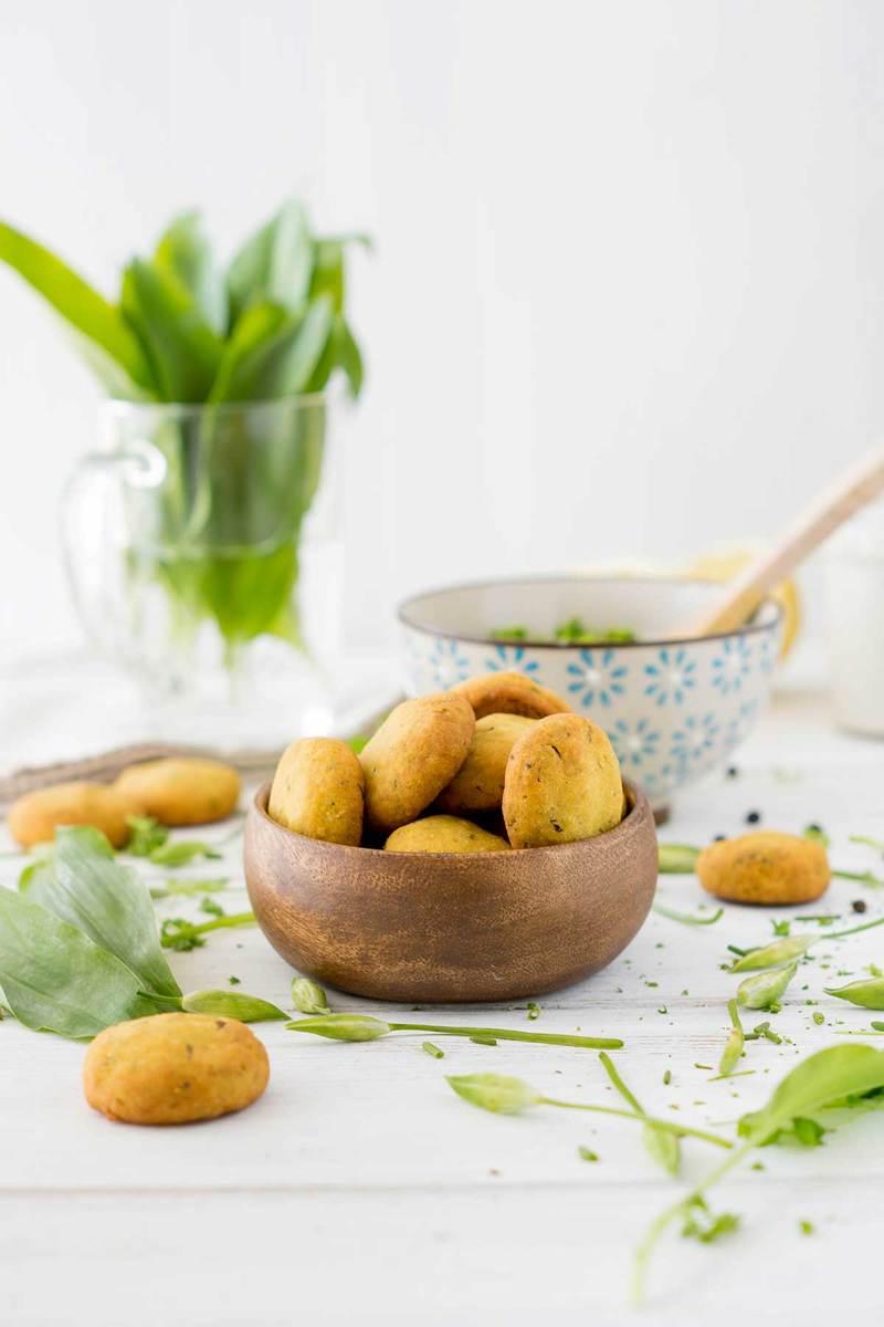 Rezept Bärlauch-Gebäck ohne Gluten