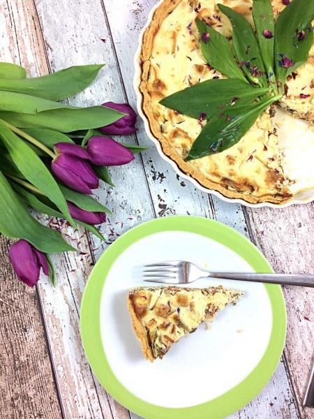 Rezept Bärlauch-Käse Tarte