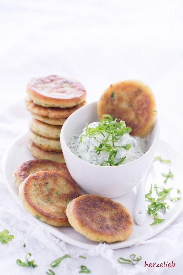 Rezept Bärlauch-Pfannkuchen mit Bärlauch-Dip