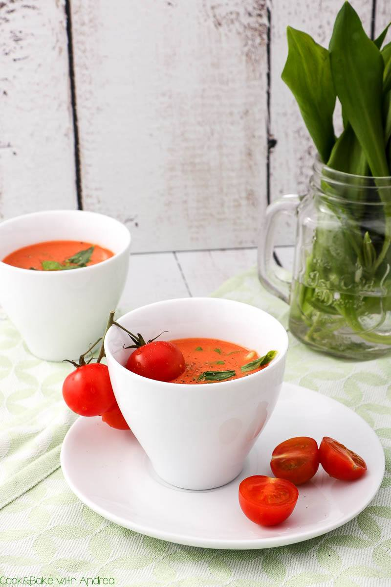 Rezept Bärlauch-Tomatensuppe