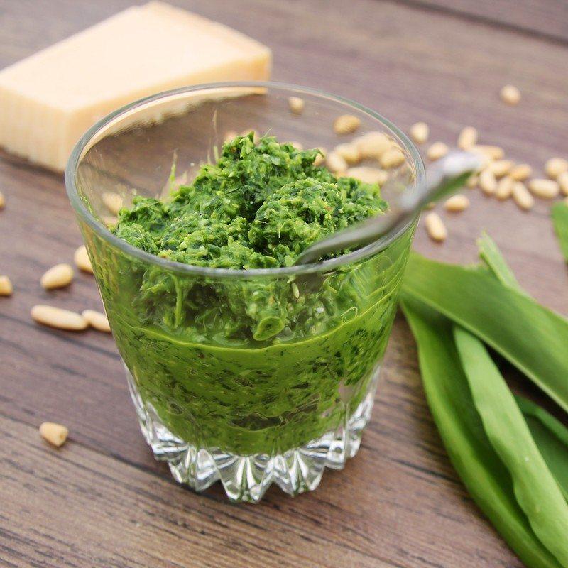 Rezept Bärlauchpesto mit Erdmandeln