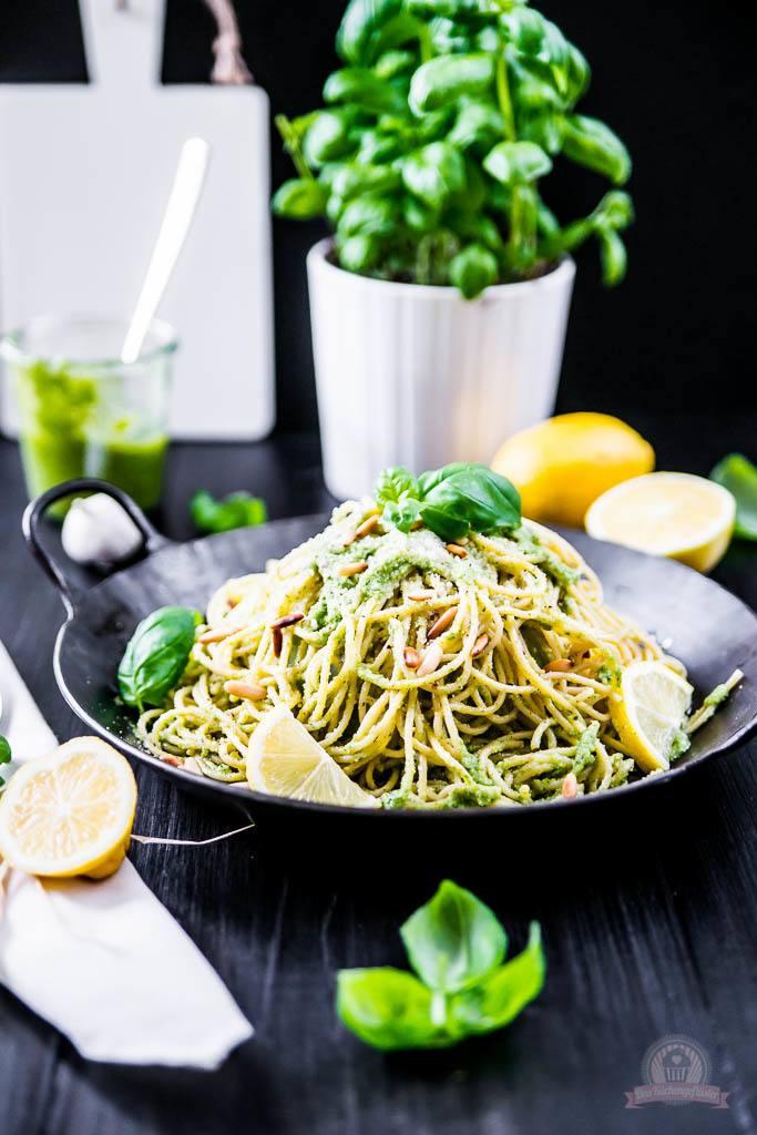 Rezept Basilikum Lemon Pasta