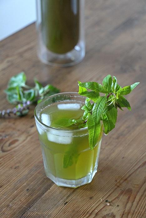 Rezept Basilikum-Limonade