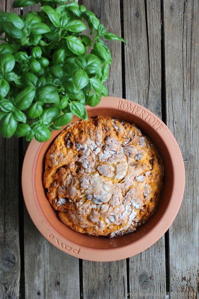 Rezept Basilikum-Tomaten-Brot