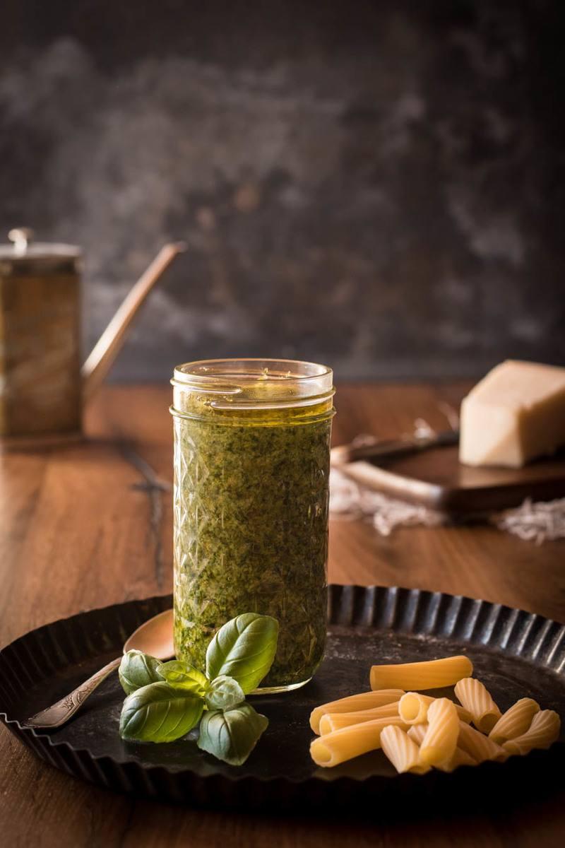 Rezept Basilikumpesto - Pesto alla Genovese