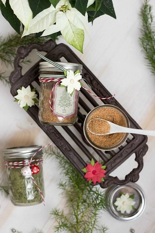 Rezept Basilikumsalz und Glühweinzucker