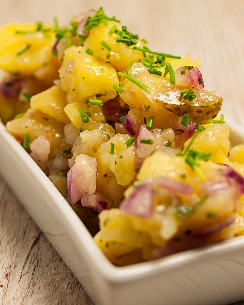 Rezept Bayrischer Kartoffelsalat