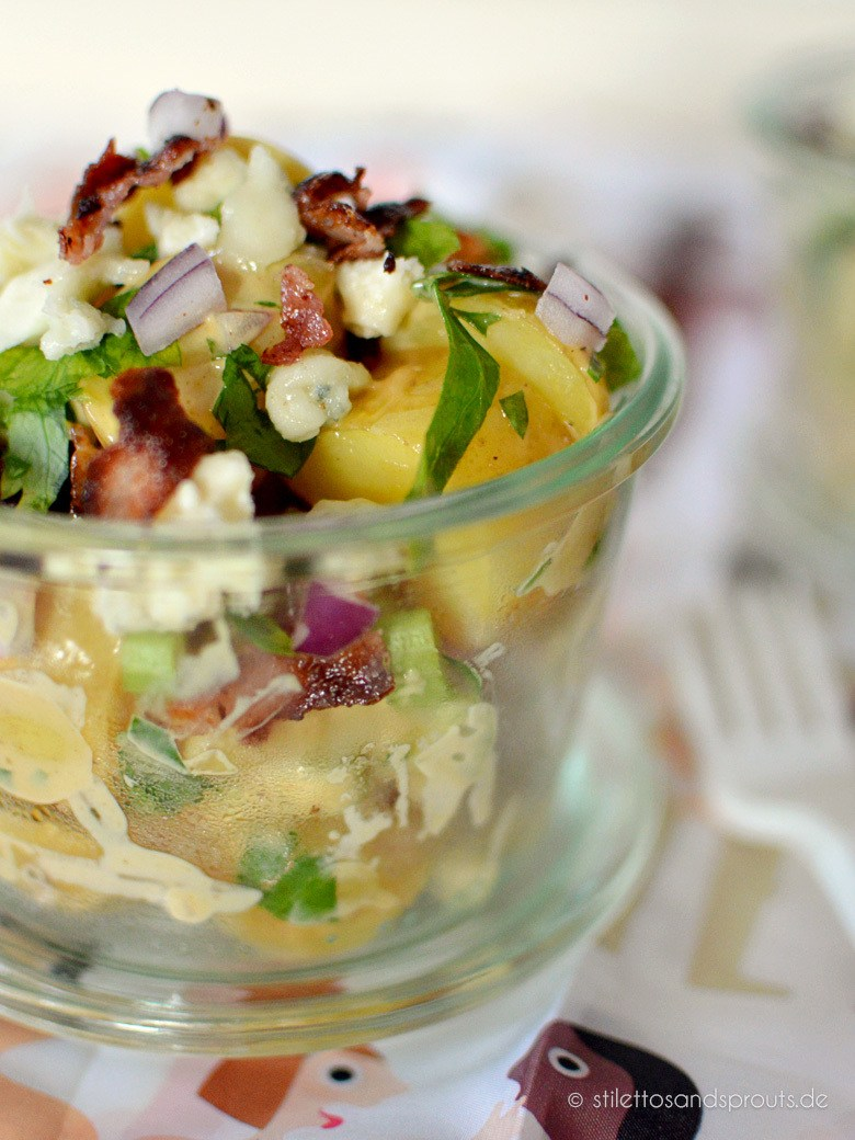 Rezept BBQ Bacon Potato Salad