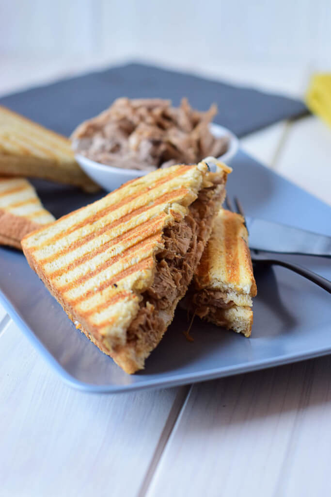 Rezept BBQ Pulled Pork Sandwich